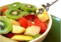 Bowl of healthy fruit