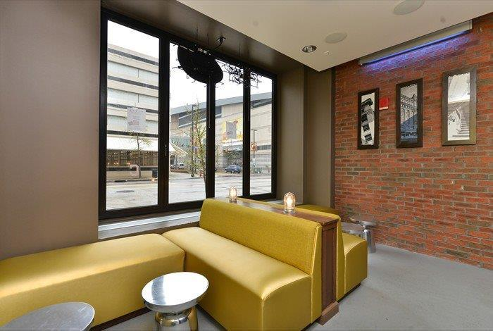 Lounge Area in the Gateway Bar & Grill