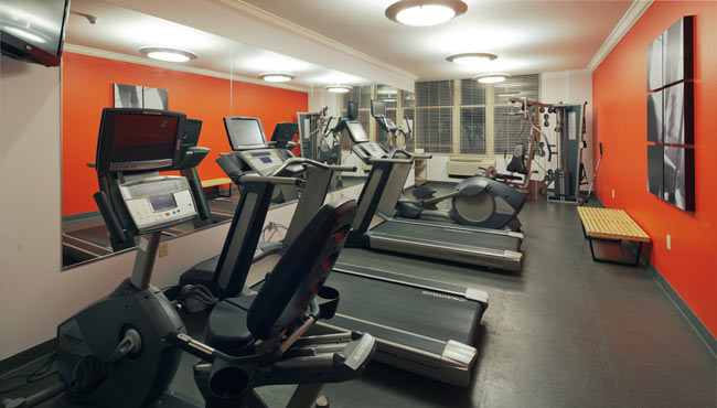 Radisson Hotel Cleveland-Gateway Fitness Center