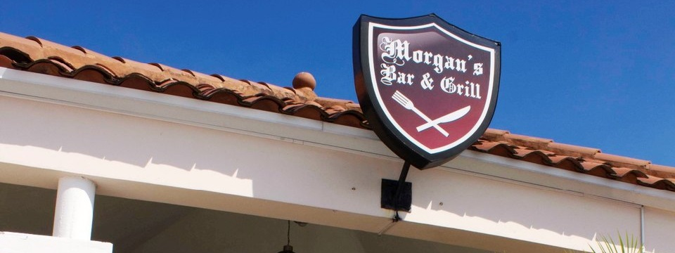 Morgan's Bar & Grill entrance