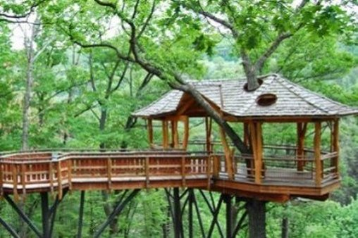 Unique Tree House at Nay Aug Park