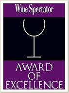 2016 Wine Spectator Award of Excellence