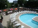 Outdoor Pool at Bucks County Hotel