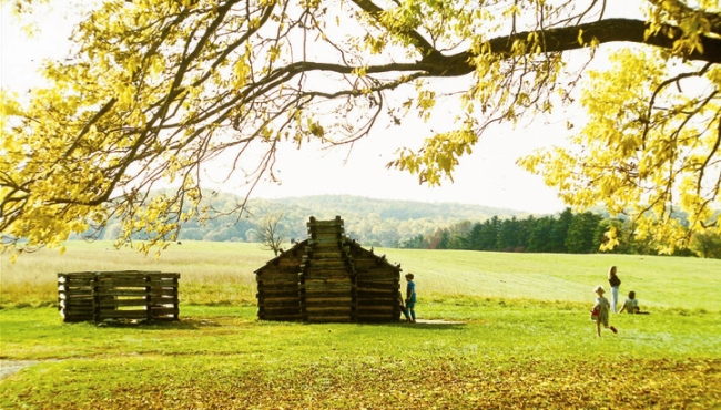 Visit nearby Valley Forge National Historic Park