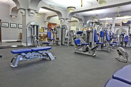 Work Out in Crown Club Fitness Centre