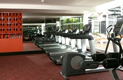 Sukhumvit hotel with a modern fitness centre