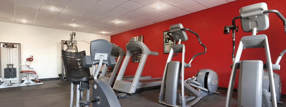 Corpus Christi hotel's fitness center includes treadmills and more