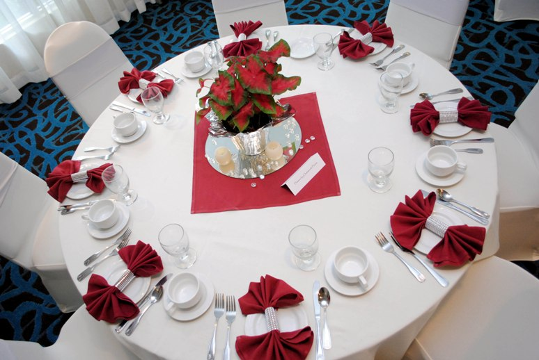 Banquets in the Milano Room