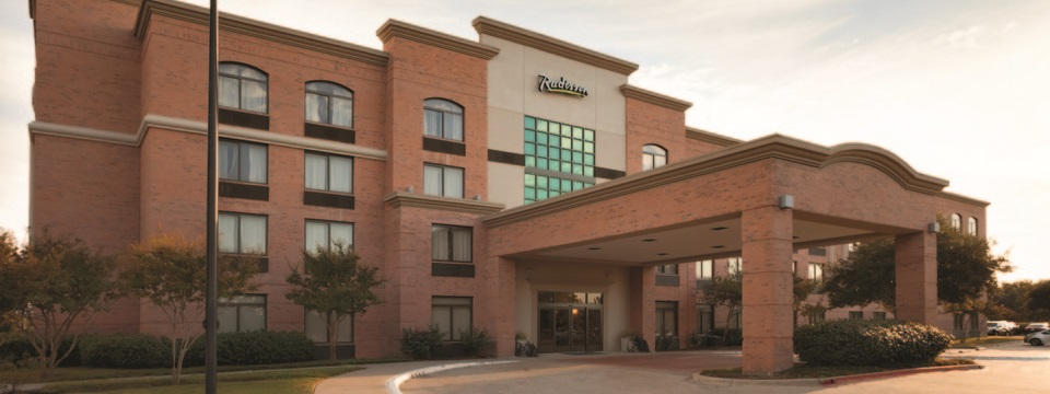 Radisson Hotel Dallas North-Addison hotel exterior