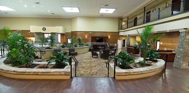 Fort Worth Hotel Lobby With Seating Area