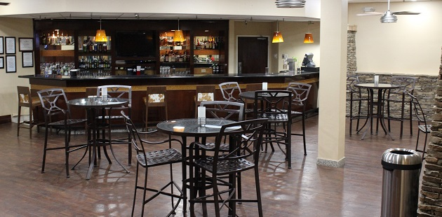 Lone Star Lounge with tables and bar seating