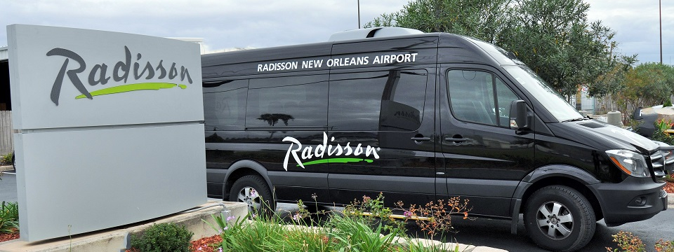 Radisson New Orleans Airport shuttle