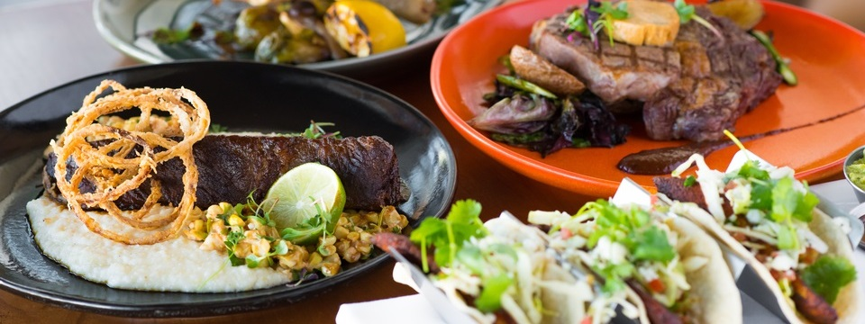 Tender steak and flavorful tacos at Copper Canyon Grill