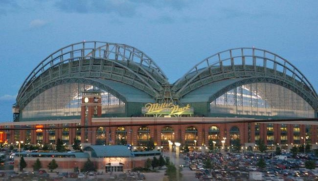 Miller Park with the Brewers
